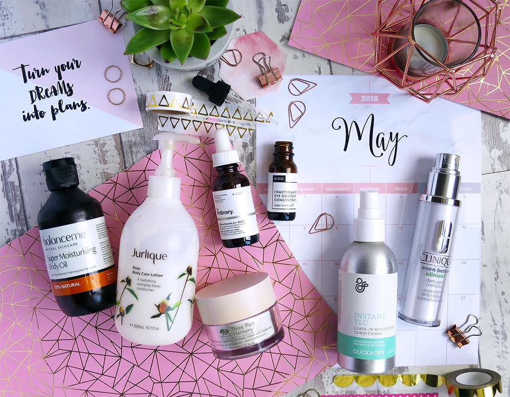 Product Empties May 2018